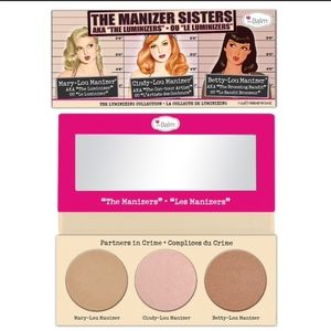 theBalm The Manizer Sisters Luminizer Palette